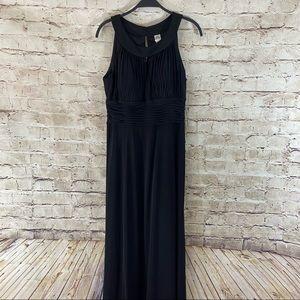 Black Sangria high neck midi dress size 12